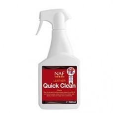 Очиститель для кожаной амуниции и конного снаряжения Leather Quick Clean, NAF 5 Stars