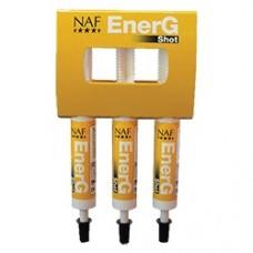 Средство для быстрого заряда энергии Energ Shot, набор из трех шприцов, NAF 5 Stars