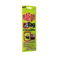 Репеллент-бирка для лошади NAF Off Citronella, NAF 5 Stars