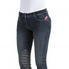 Бриджи женские джинсовые с коленной леей Norchio, Animo