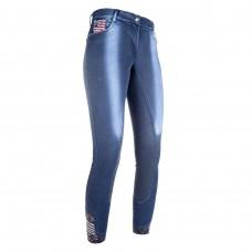 Бриджи детские джинсовые с полной леей Denim, HKM
