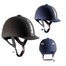 Шлем с отделкой под замшу, Tattini