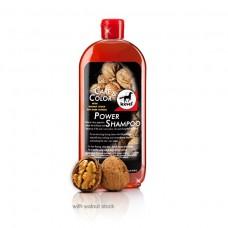 Шампунь для лошади концентрированный с грецким орехом Power Shampoo Walnut, Leovet